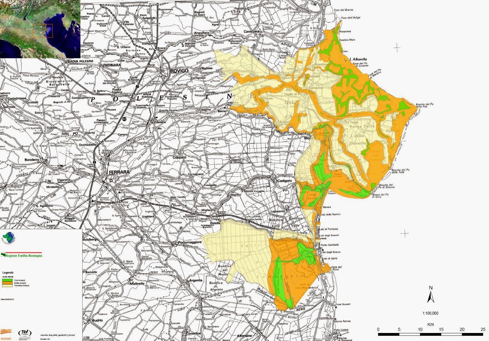 Fiumi Piemonte Cartina