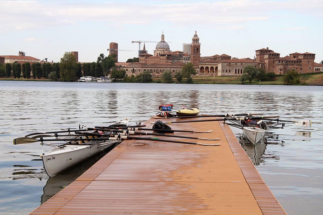 partenza da Mantova, foto di alessandra trazzi