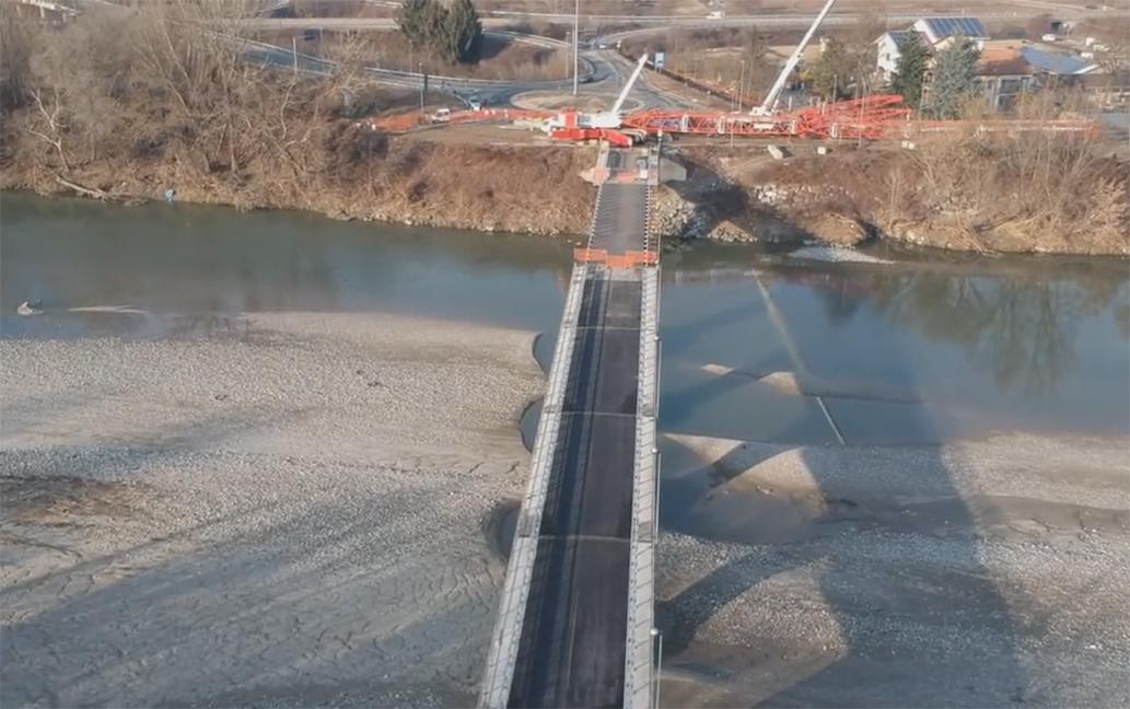 ponte tra settimo e castiglione torinese