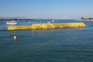 venezia, i cassoni del mose - wateronline