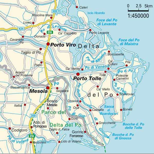 Collegamento Via Acqua Tra Albarella E Porto Levante Il Giornale